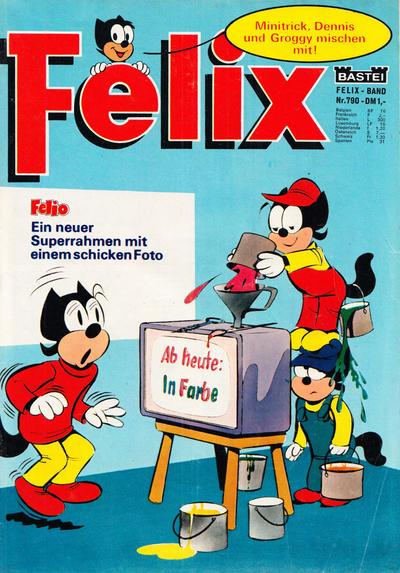 Cover for Felix (Bastei Verlag, 1958 series) #790