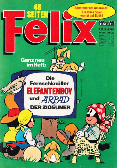 Cover for Felix (Bastei Verlag, 1958 series) #823