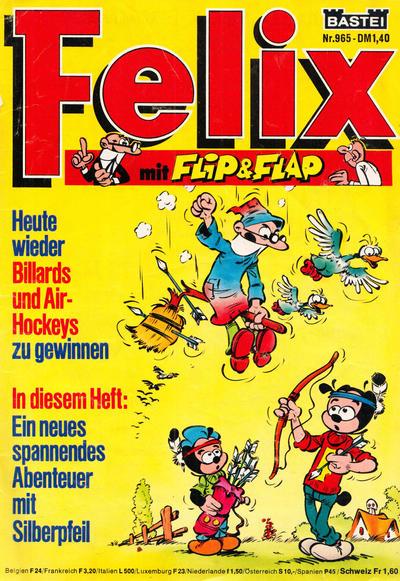 Cover for Felix (Bastei Verlag, 1958 series) #965