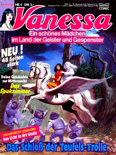Cover for Vanessa (Bastei Verlag, 1990 series) #4