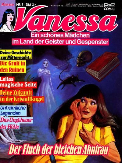 Cover for Vanessa (Bastei Verlag, 1990 series) #5