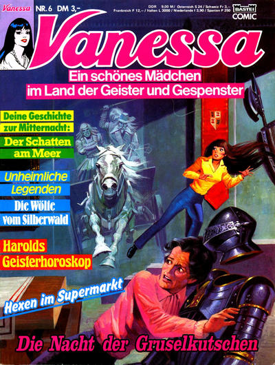 Cover for Vanessa (Bastei Verlag, 1990 series) #6