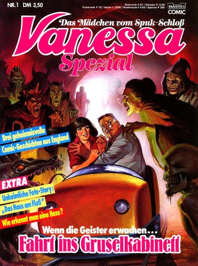 Cover for Vanessa Spezial (Bastei Verlag, 1989 series) #1