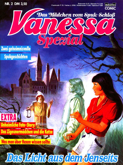 Cover for Vanessa Spezial (Bastei Verlag, 1989 series) #2