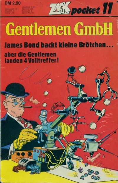 Cover for Zack Pocket (Koralle, 1980 series) #11 - Gentlemen GmbH - James Bond backt kleinere Brötchen
