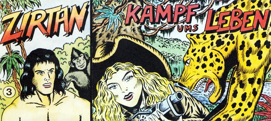 Cover for Zirtan (CB Comic Team - Christian Zeiser, 1987 series) #3
