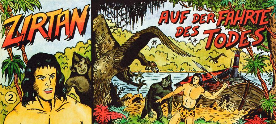 Cover for Zirtan (CB Comic Team - Christian Zeiser, 1987 series) #2