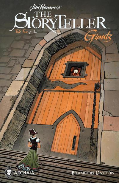 Cover for Jim Henson's The Storyteller: Giants (Boom! Studios, 2016 series) #2