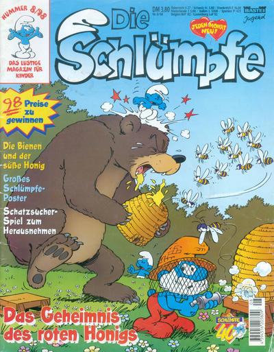 Cover for Die Schlümpfe (Bastei Verlag, 1991 series) #8/1998