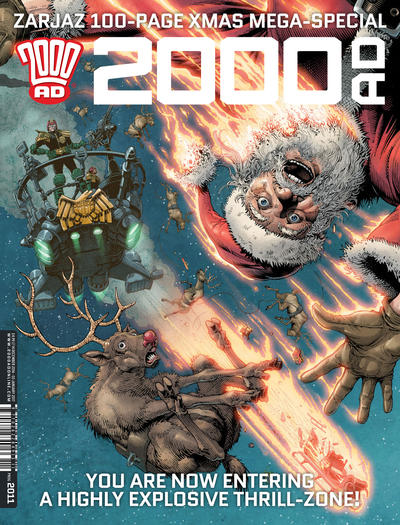 Cover for 2000 AD (Rebellion, 2001 series) #2011