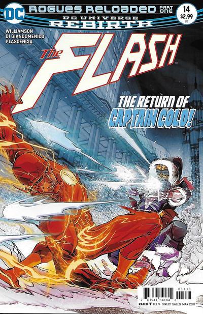 Cover for The Flash (DC, 2016 series) #14 [Carmine Di Giandomenico Cover]