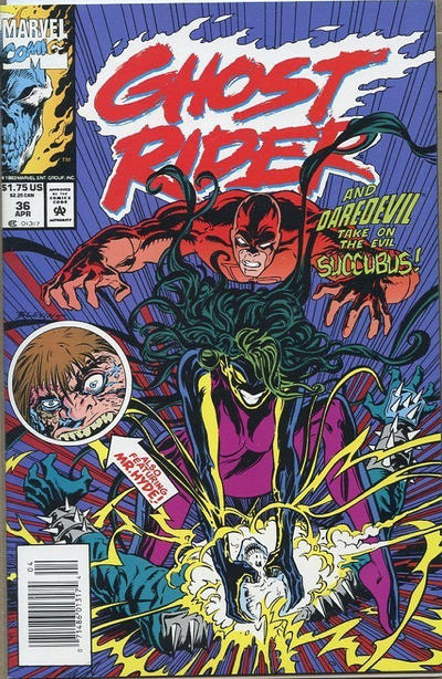 Cover for Ghost Rider (Marvel, 1990 series) #36 [Direct Edition]