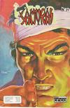 Cover for Samurai (Editora Cinco, 1980 series) #31