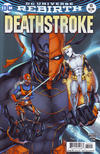 Cover for Deathstroke (DC, 2016 series) #10 [Shane Davis Cover Variant]