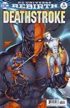 Cover for Deathstroke (DC, 2016 series) #10 [Shane Davis / Michelle Delecki Cover]
