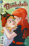 Cover for DC Comics: Bombshells (DC, 2015 series) #3 [Kate Leth Cover]