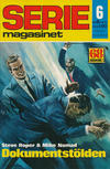 Cover for Seriemagasinet (Semic, 1970 series) #6/1972