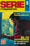 Cover for Seriemagasinet (Semic, 1970 series) #9/1972