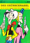 Cover for Kauka Super Serie (Gevacur, 1970 series) #63 - Lucky Luke - Der Grünschnabel