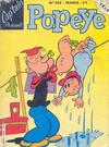 Cover for Cap'tain Présente Popeye (Greantori, 1980 ? series) #256