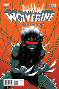 Cover Thumbnail for All-New Wolverine (Marvel, 2016 series) #16 [David Lopez]