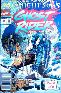 Cover for Ghost Rider (Marvel, 1990 series) #31 [Direct]