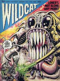 Cover Thumbnail for Wildcat (Fleetway Publications, 1988 series) #7