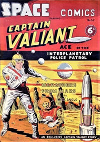 Cover Thumbnail for Space Comics (Arnold Book Company, 1953 series) #52