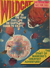 Cover Thumbnail for Wildcat (Fleetway Publications, 1988 series) #[nn]
