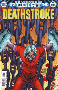 Cover Thumbnail for Deathstroke (DC, 2016 series) #9 [Shane Davis Cover Variant]
