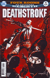 Cover Thumbnail for Deathstroke (DC, 2016 series) #10 [Cary Nord Cover Variant]