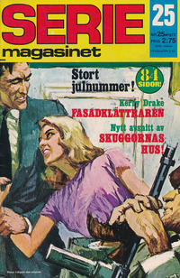 Cover Thumbnail for Seriemagasinet (Semic, 1970 series) #25/1972