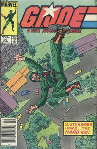 Cover for G.I. Joe, A Real American Hero (Marvel, 1982 series) #20 [Direct Edition]