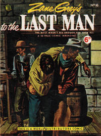 Cover Thumbnail for Zane Grey's Stories of the West (World Distributors, 1953 series) #16
