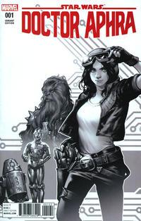 Cover Thumbnail for Doctor Aphra (Marvel, 2017 series) #1 [Retailer Bonus Kamome Shirahama Black and White Variant]