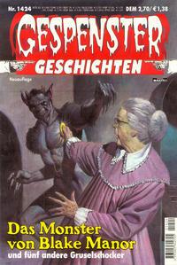 Cover Thumbnail for Gespenster Geschichten (Bastei Verlag, 1974 series) #1424