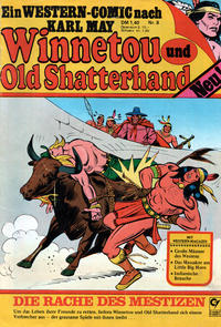 Cover Thumbnail for Winnetou und Old Shatterhand (Condor, 1977 series) #8