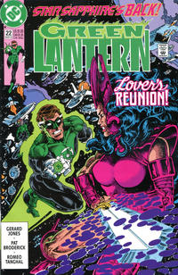 Cover Thumbnail for Green Lantern (DC, 1990 series) #22 [Direct Sales]
