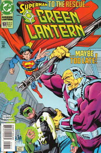 Cover Thumbnail for Green Lantern (DC, 1990 series) #53 [Direct Sales]
