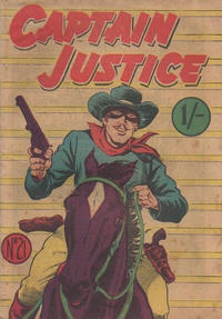 Cover Thumbnail for Captain Justice (Calvert, 1954 series) #21