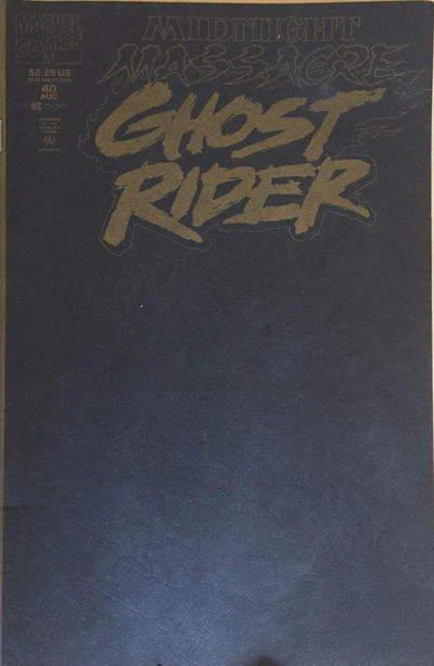 Cover for Ghost Rider (Marvel, 1990 series) #40 [Direct Edition]