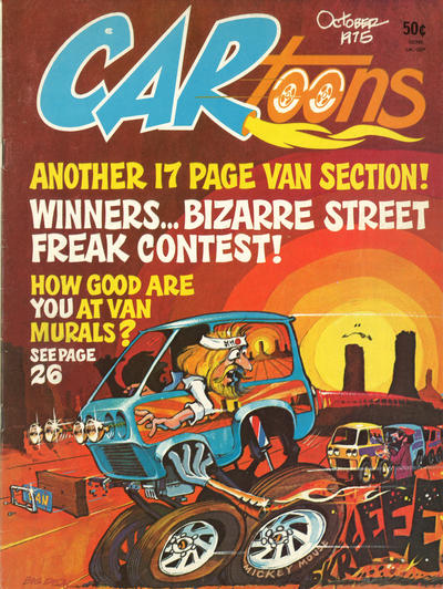 Cover for CARtoons (Petersen Publishing, 1961 series) #86