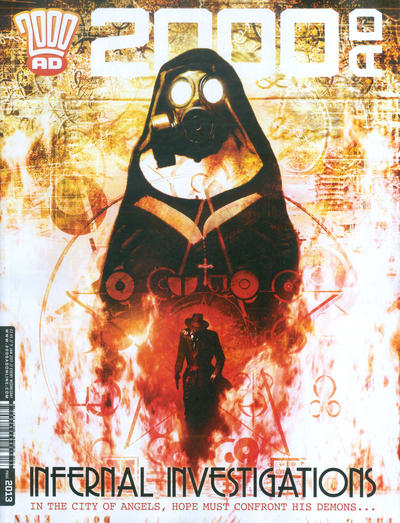 Cover for 2000 AD (Rebellion, 2001 series) #2013