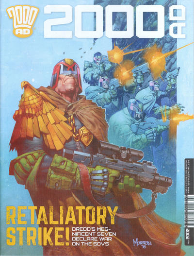 Cover for 2000 AD (Rebellion, 2001 series) #2002