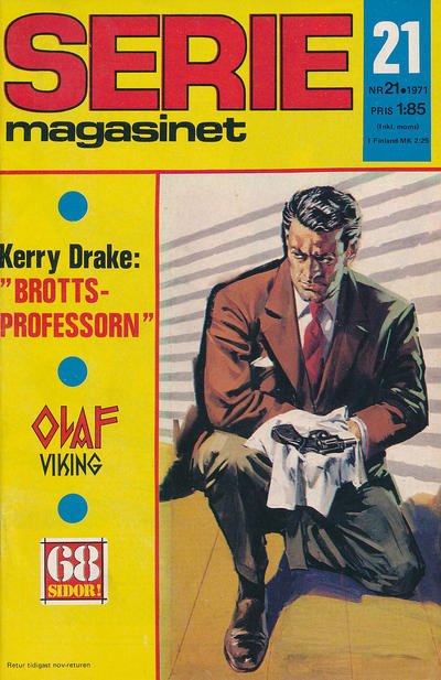Cover for Seriemagasinet (Semic, 1970 series) #21/1971