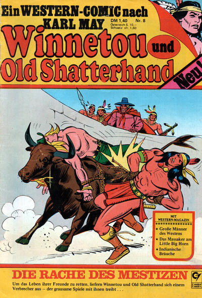 Cover for Winnetou und Old Shatterhand (Condor, 1977 series) #8