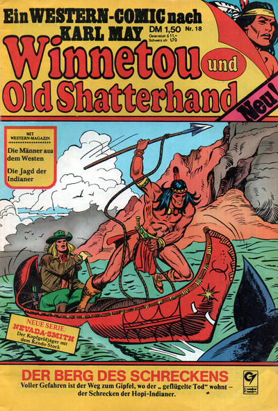 Cover for Winnetou und Old Shatterhand (Condor, 1977 series) #18