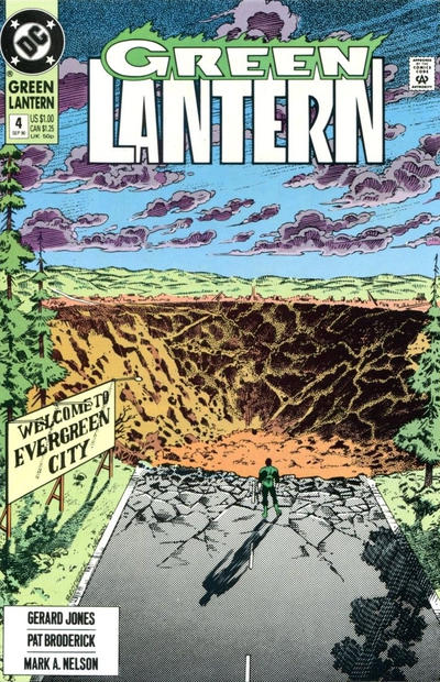 Cover for Green Lantern (DC, 1990 series) #4 [Direct Sales]