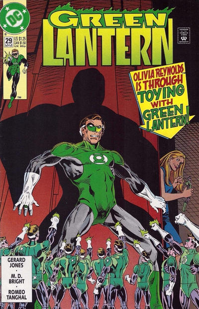 Cover for Green Lantern (DC, 1990 series) #29 [Direct Sales]
