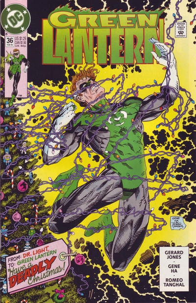 Cover for Green Lantern (DC, 1990 series) #36 [Direct Sales]